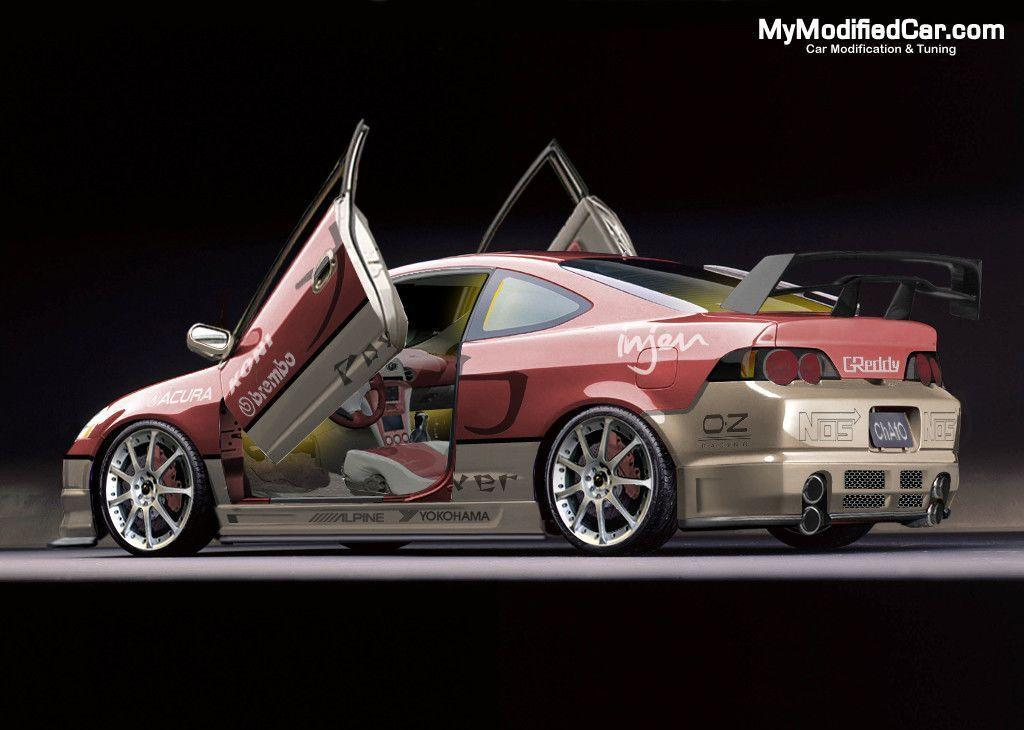 Acura RSX Tuning, modified Acura RSX Wallpaper | MyModifiedCar.