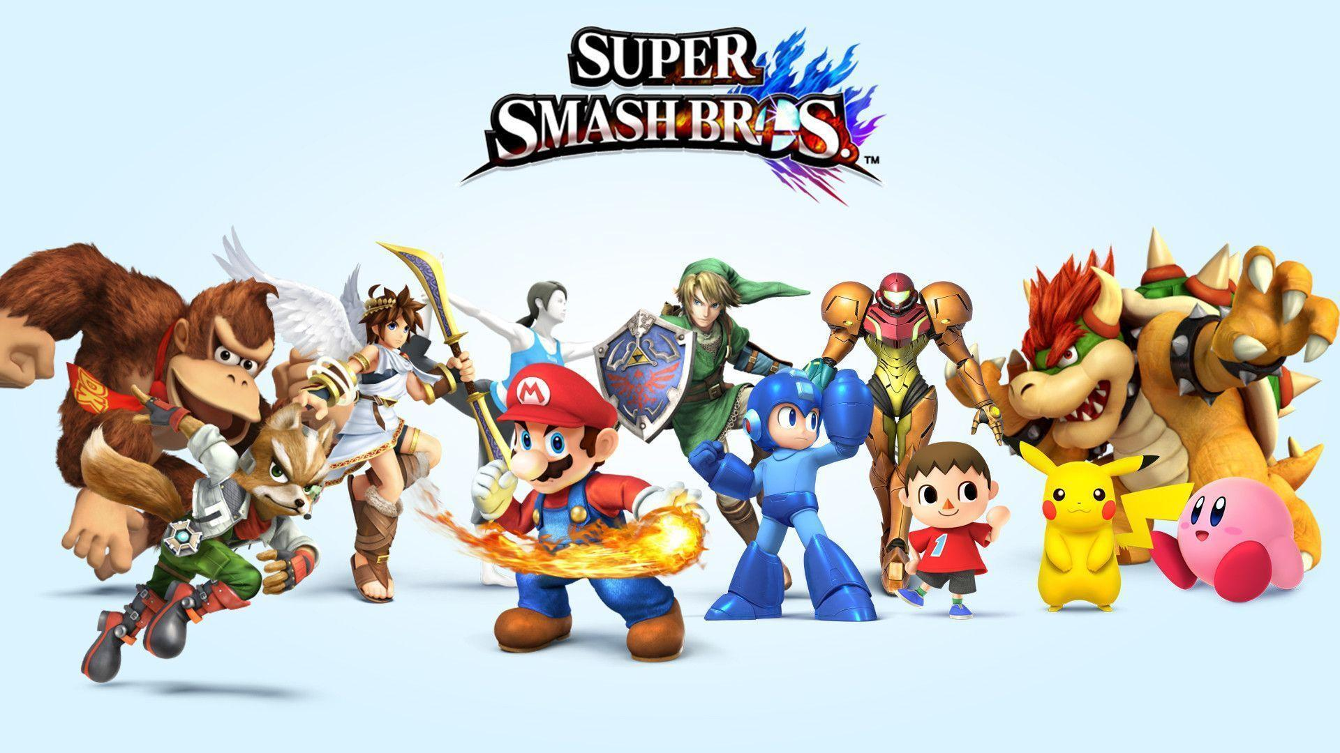 Super Smash Bros 4 Characters Wallpapers [HD]