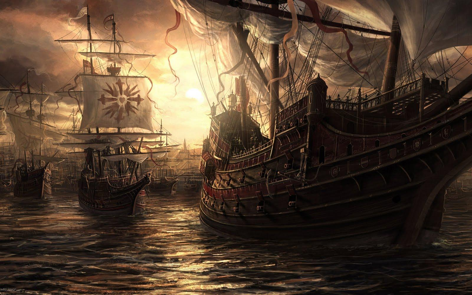 pirate ship computer wallpapers - photo #5