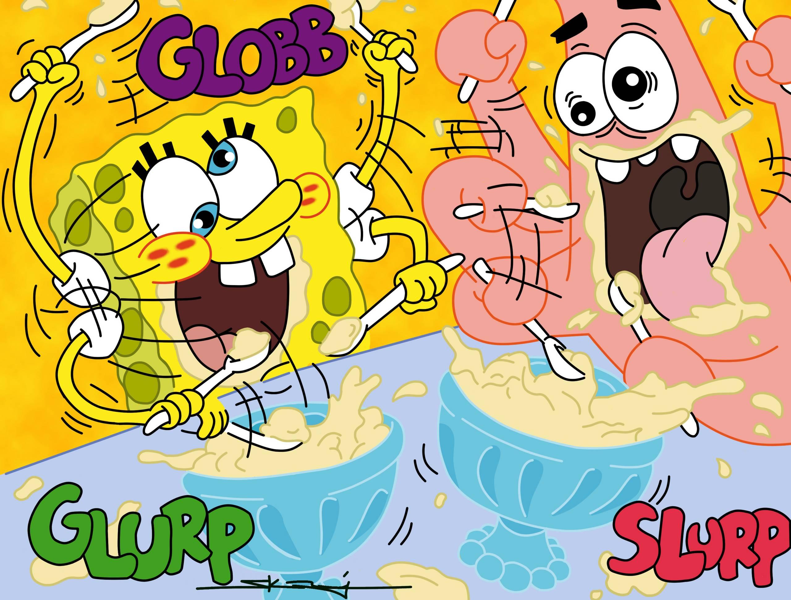 Spongebob tapety na pulpit bajki - FD