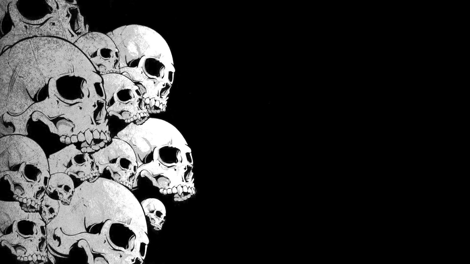 skull wallpaper wallpapers hd - photo #7