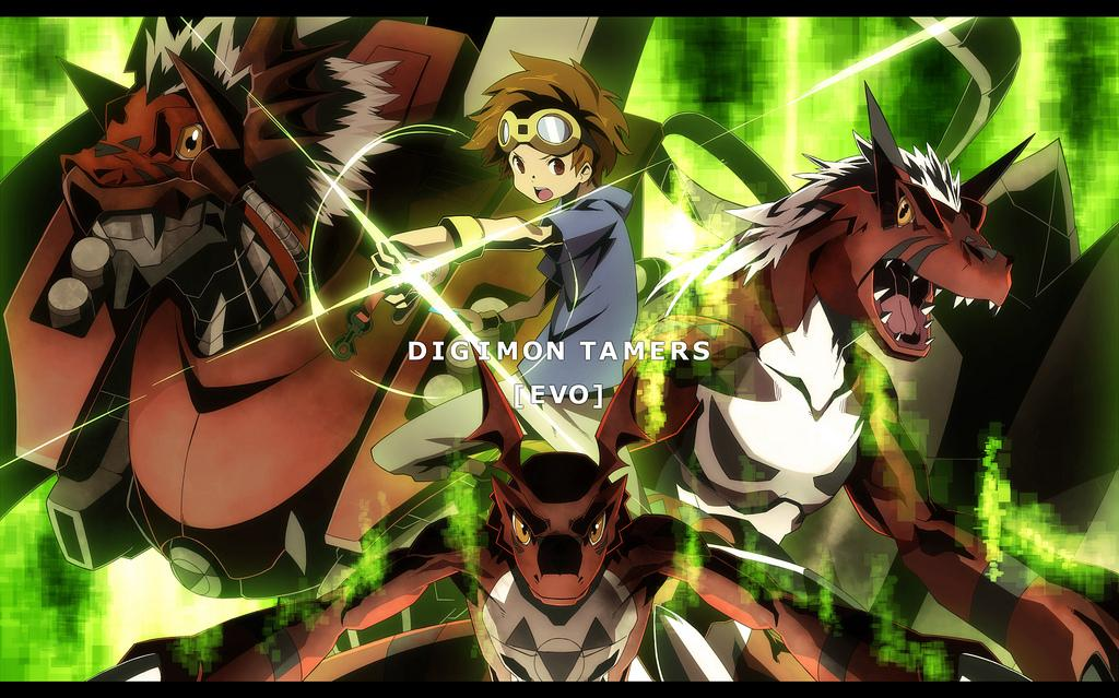 Digimon Tamers Wallpapers Wallpaper Cave