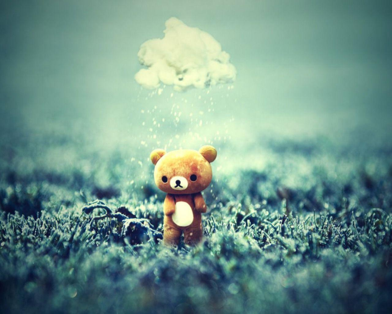 Desktop Wallpaper Alone Love : Teddy Bear Love Wallpapers - Wallpaper cave