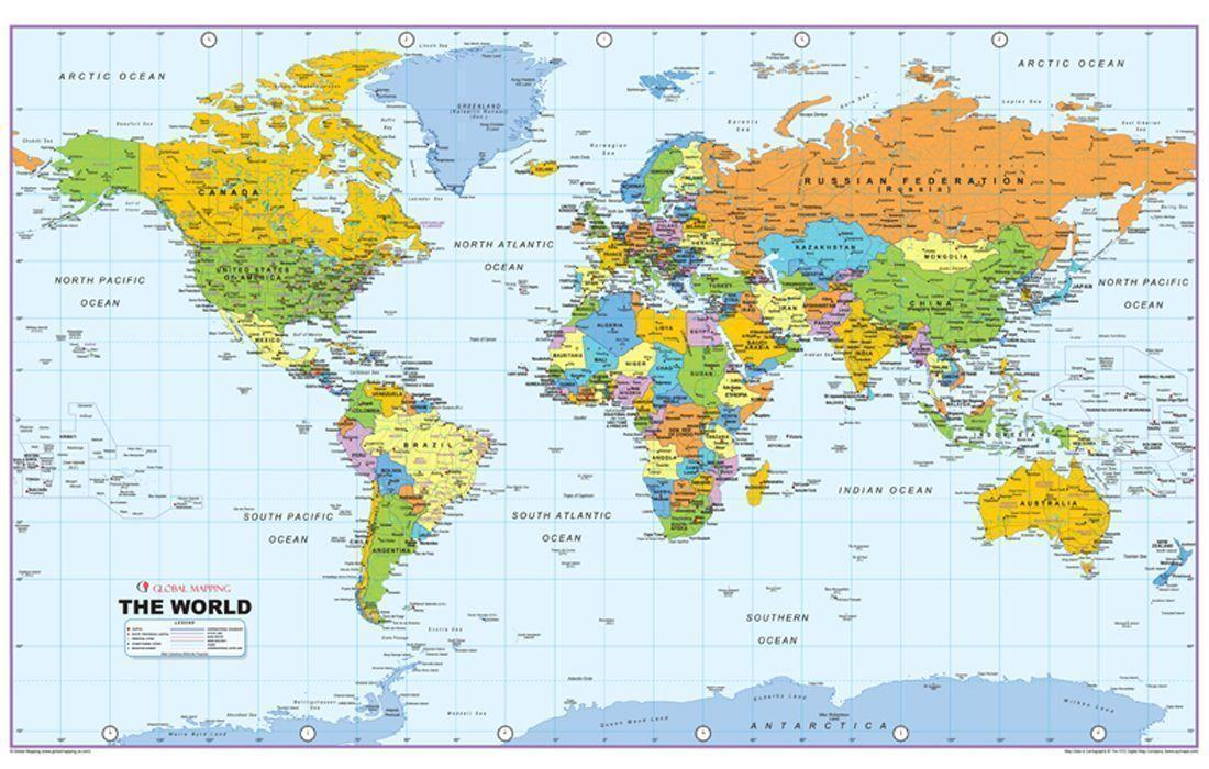 Eastern Hemisphere Map With Names World Map Wallpapers H...