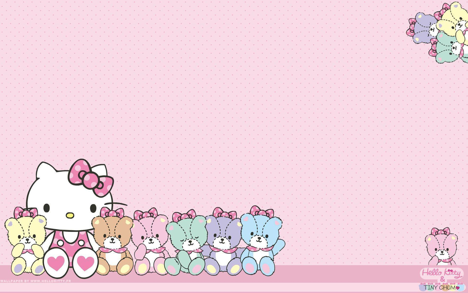 Hello Kitty Backgrounds For Computers Sanrio Backgrounds - W...