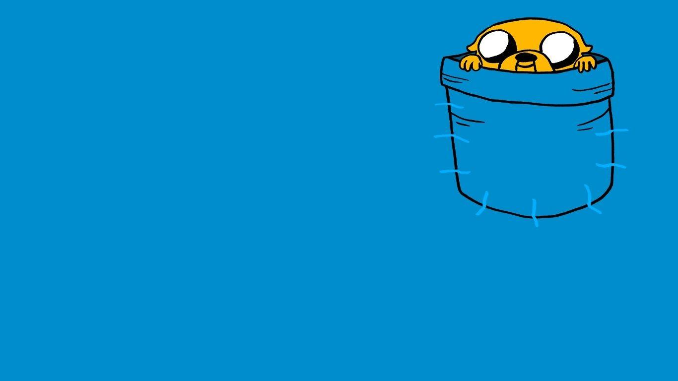adventure time blue background - photo #7
