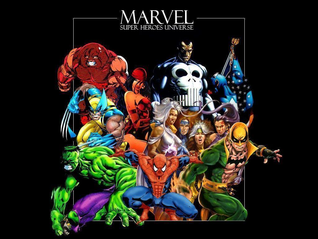 Marvel Super Heroes 60 Superhéroes: Marvel Superheroes Wallpapers