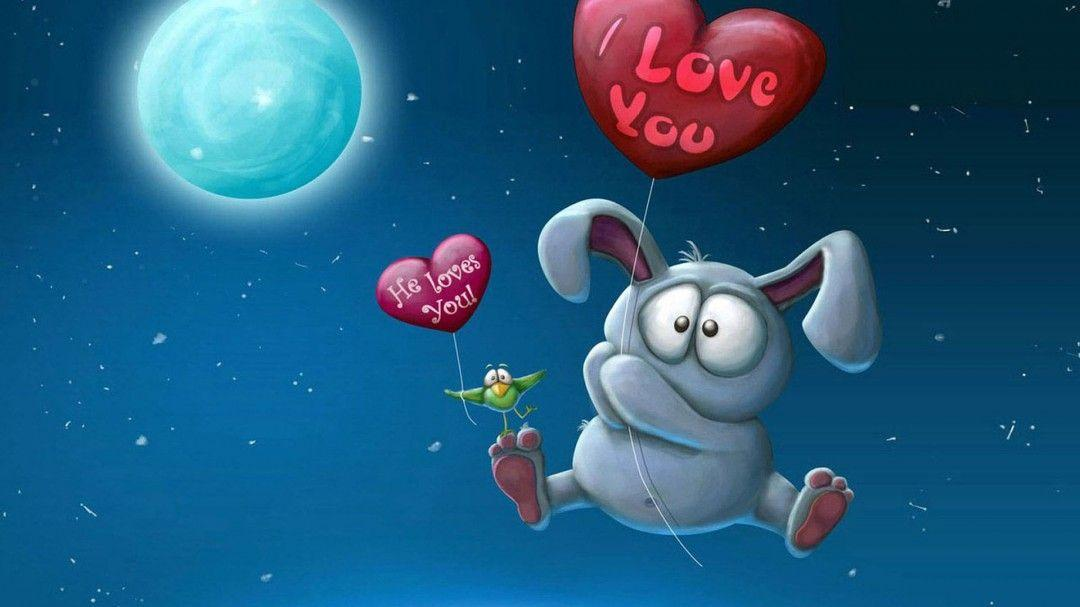 Love You Cartoon Wallpapers Hd Free Download Fo Wallpapers