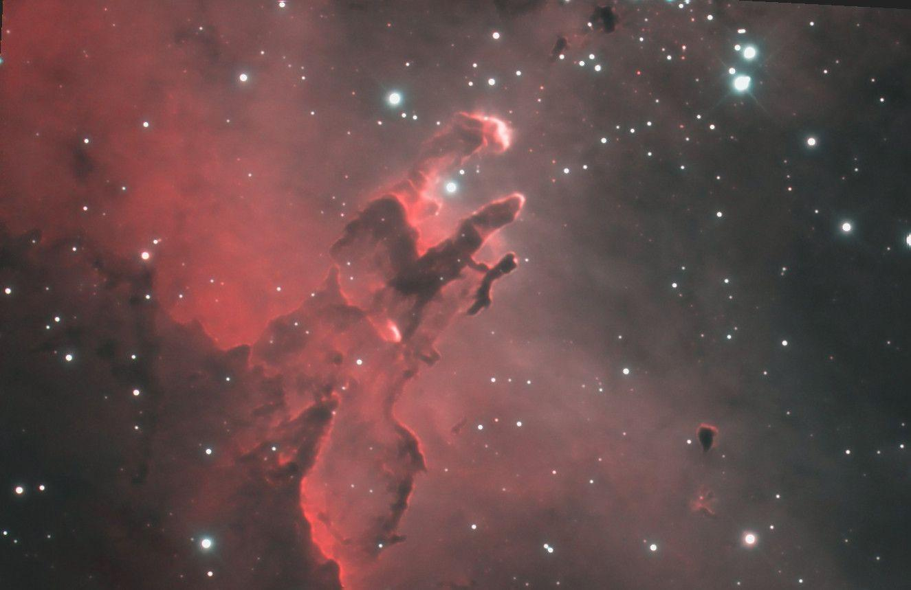 Photographing the Pillars of Creation – Voices