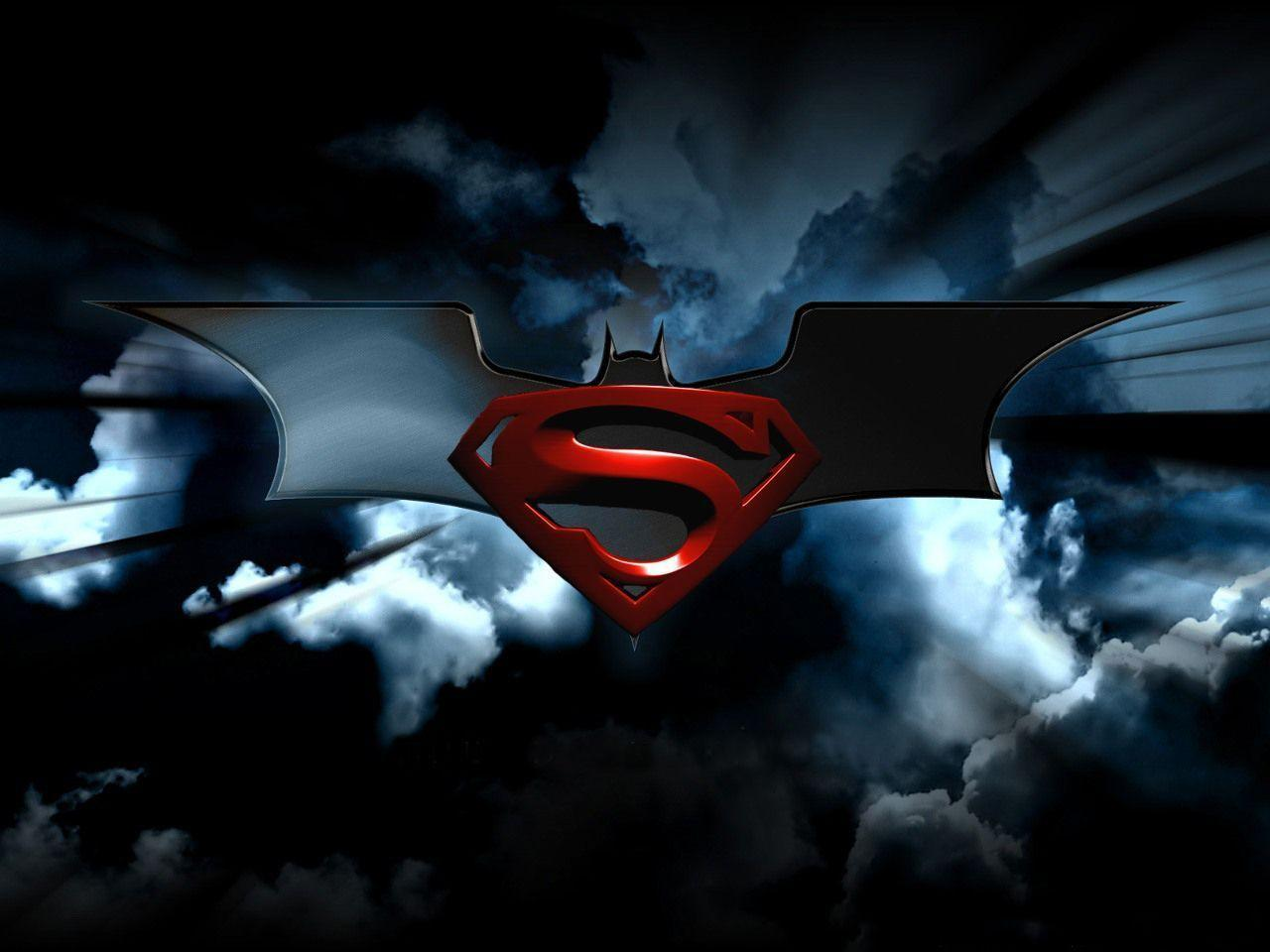 Logos For > Batman Superman Logo Wallpapers