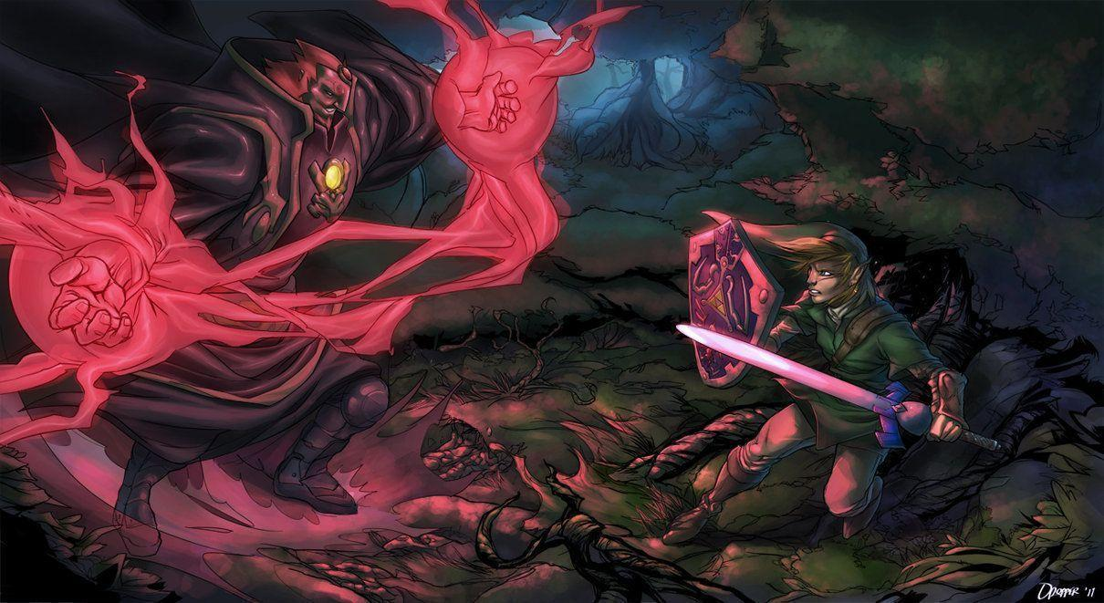 Battle of Zelda Wallpapers