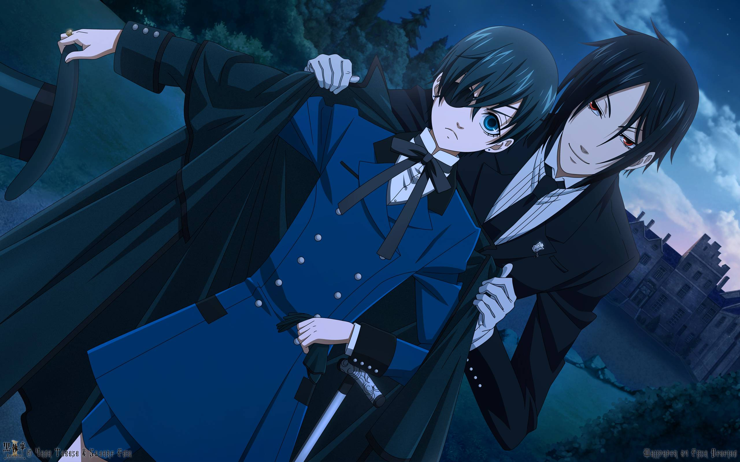 Black Butler Computer Wallpapers, Desktop Backgrounds 2560x1600 Id