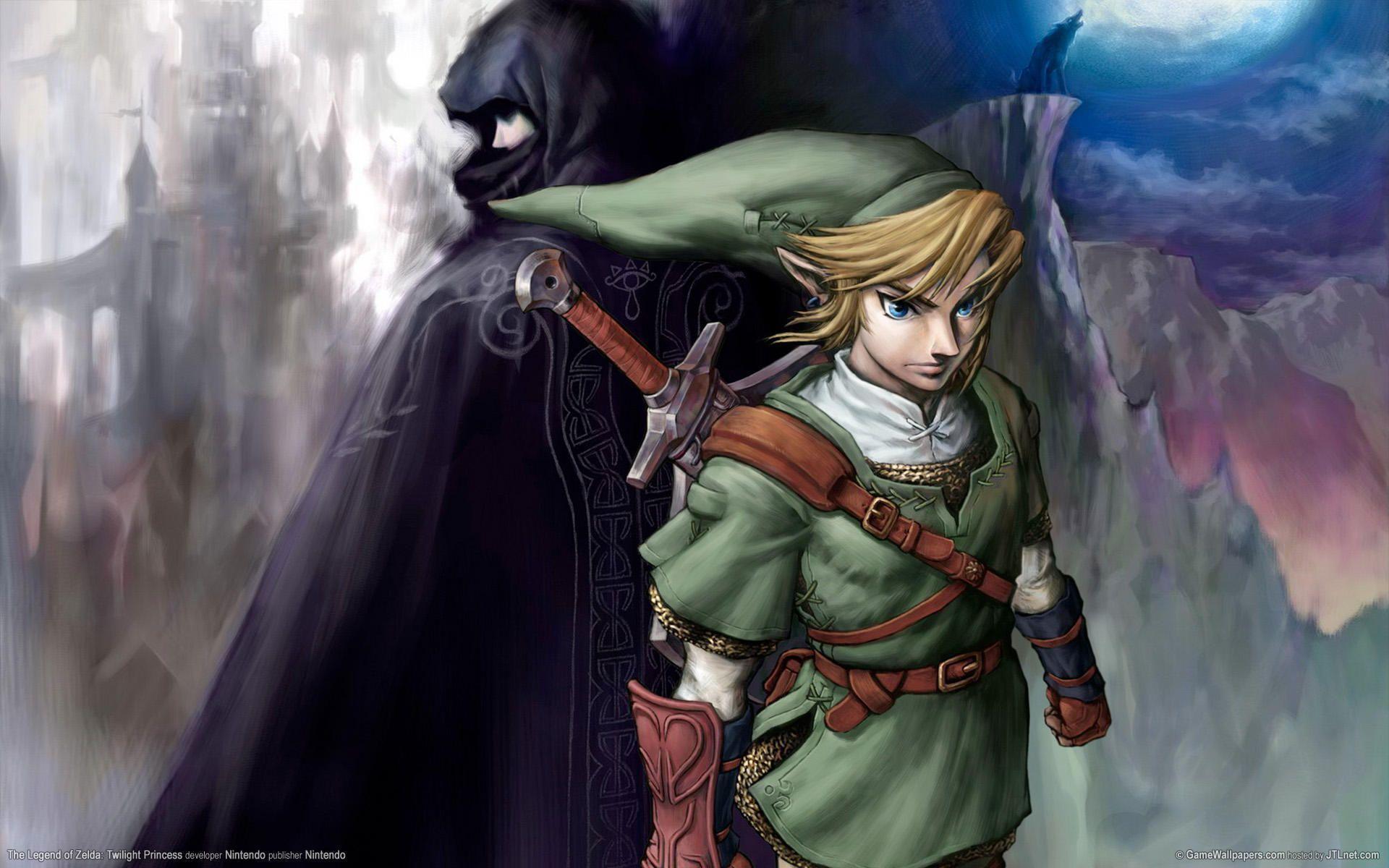 The Legend Of Zelda Twilight Princess Wallpapers Wallpaper Cave