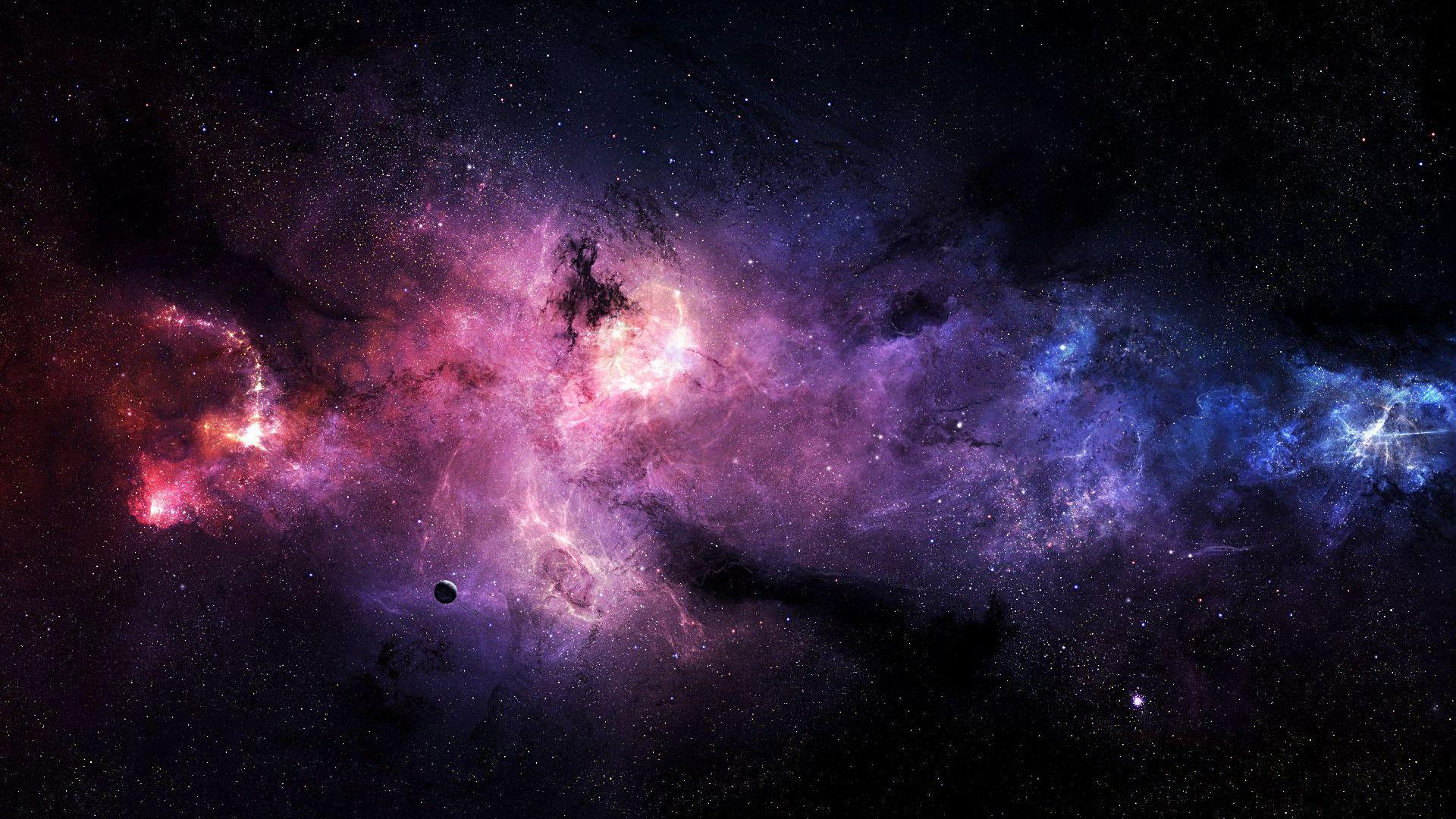 purple galaxy wallpapers free