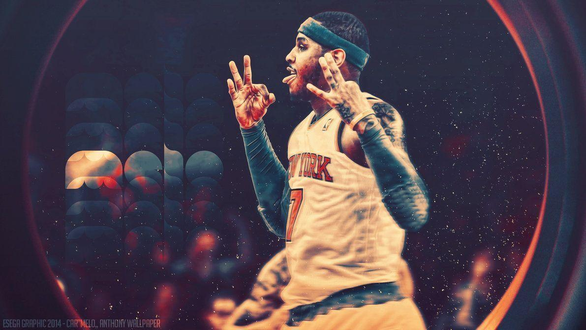 Carmelo Anthony Nyk Wallpapers