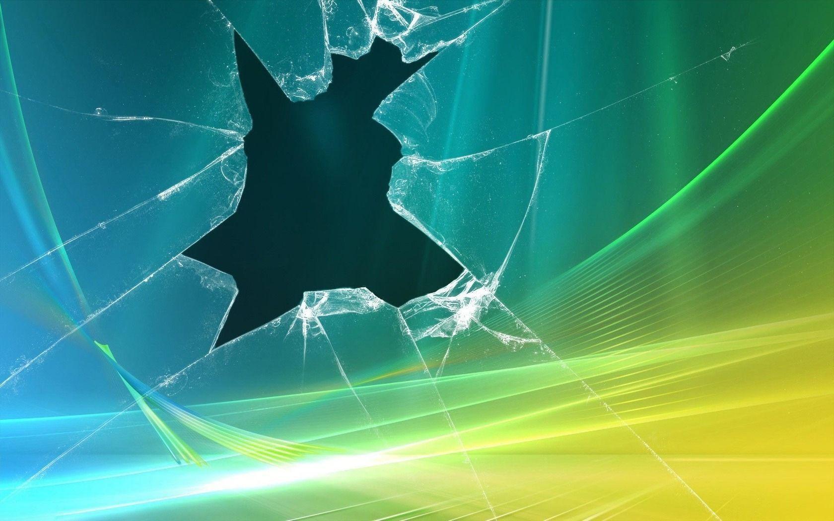 cracked screen wallpaper macbook - photo #4