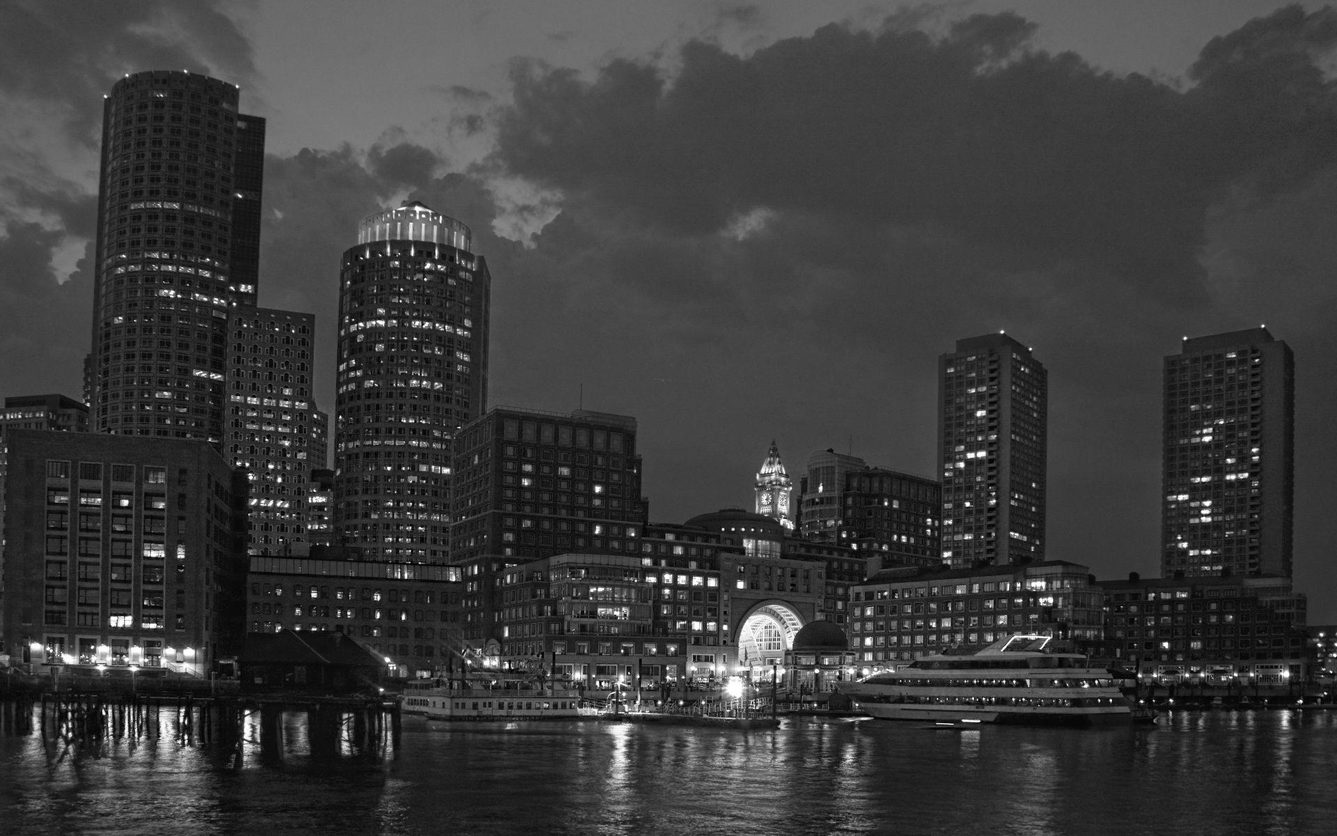 boston skyline wallpapers wallpaper cave