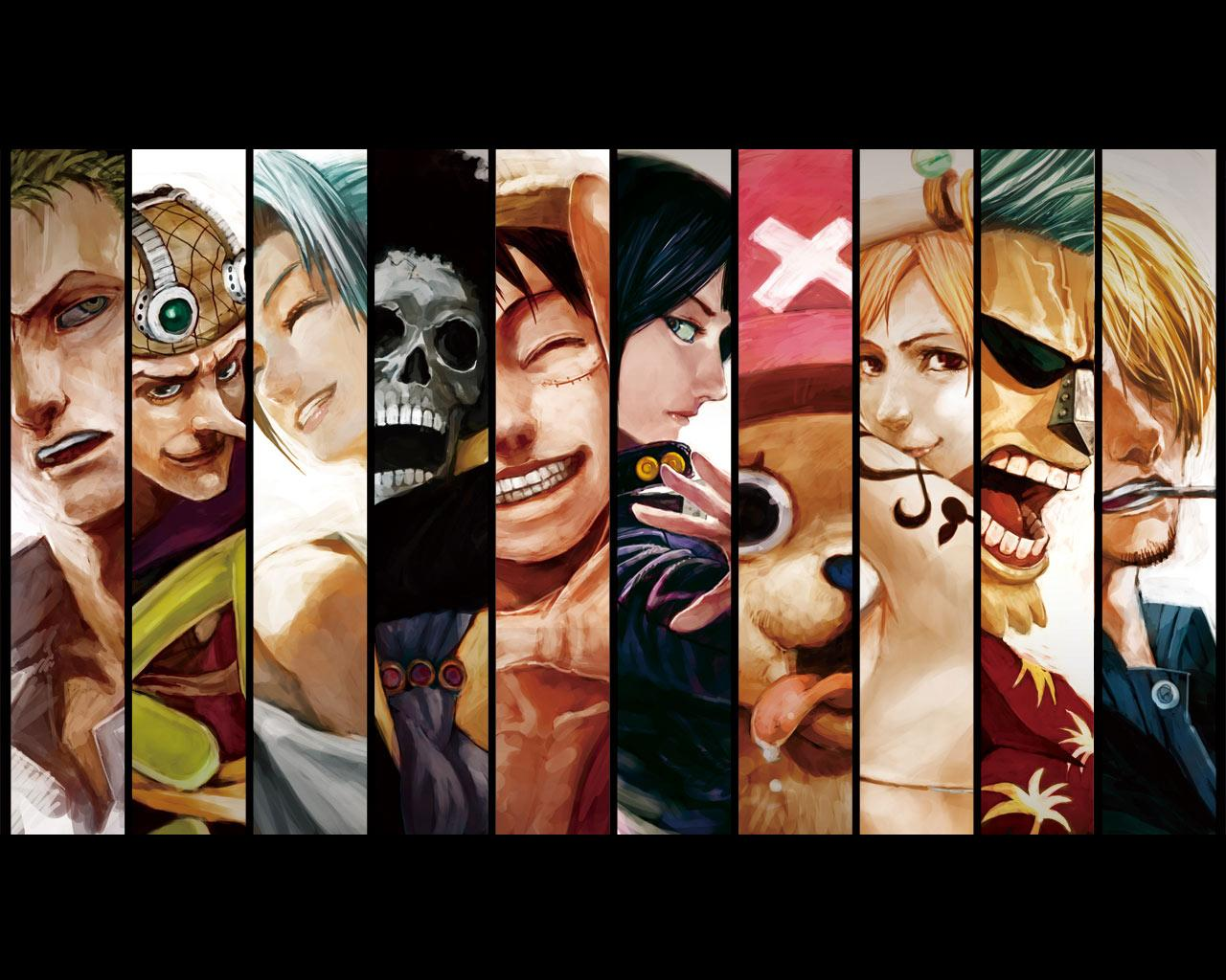 One Piece Full Crew Wallpapers