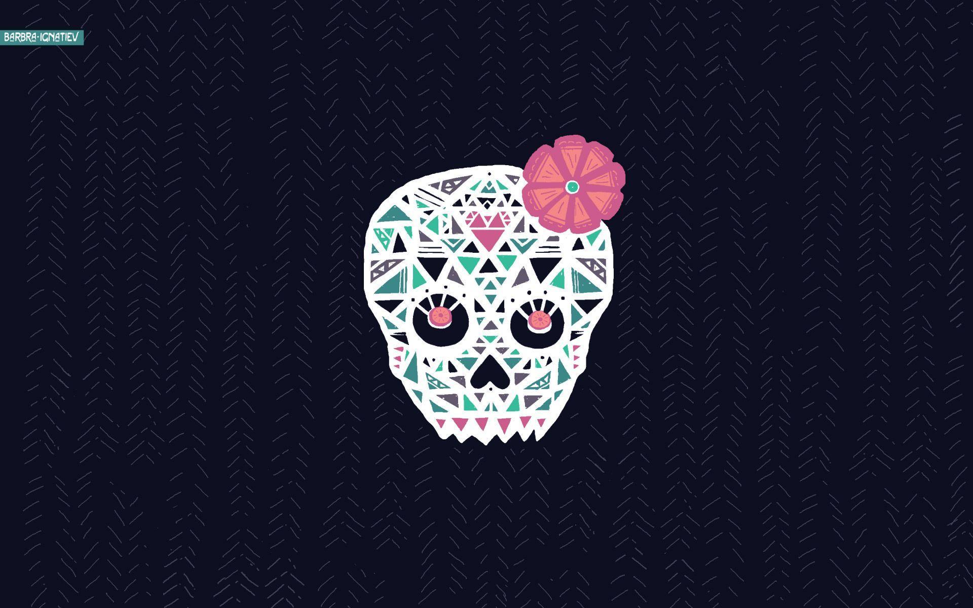Skeleton wallpapers for desktop 2015 wallpaper cave - Sugar skull background ...