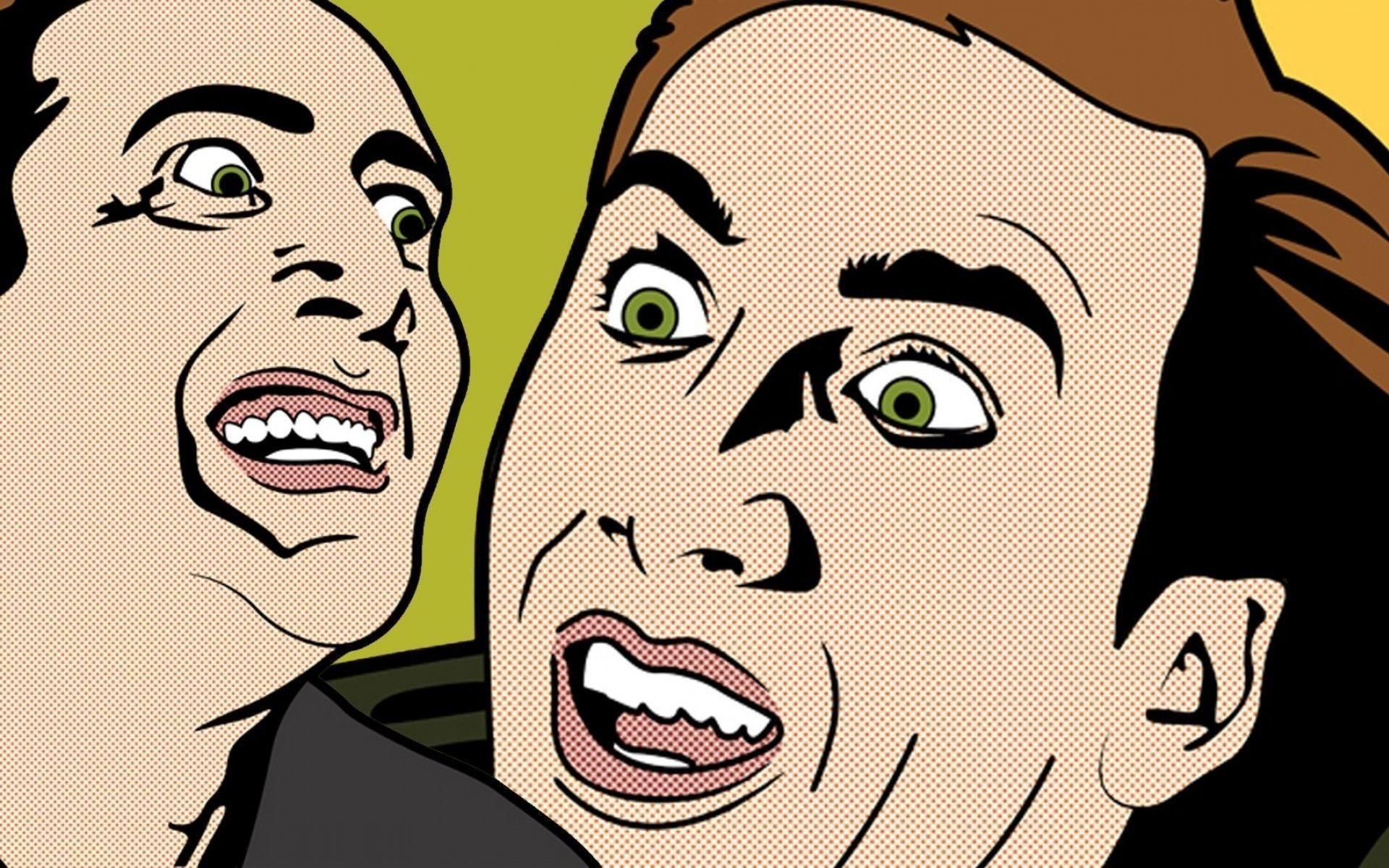 Pop Art Wallpapers 60 Images: Nicolas Cage Wallpapers