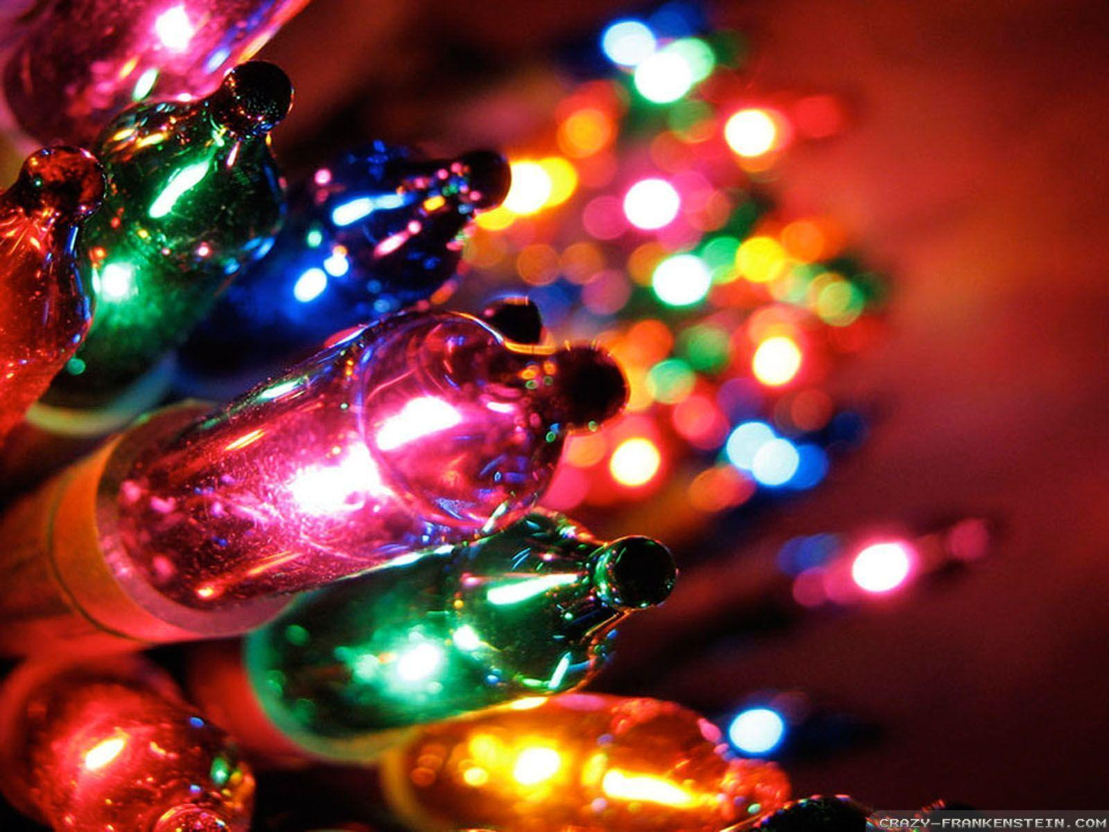 Christmas Lights Wallpaper : Christmas Lights Wallpapers - Wallpaper Cave