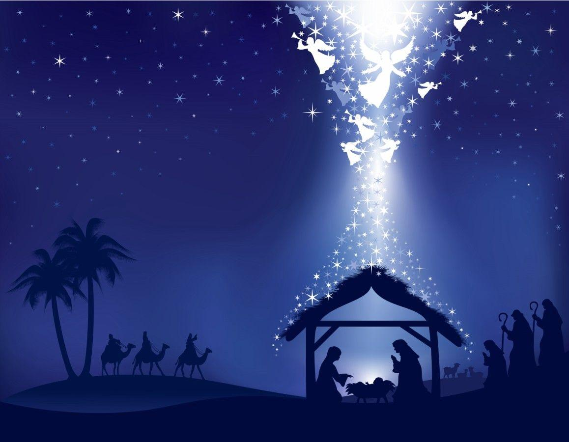 christmas nativity wallpapers desktop