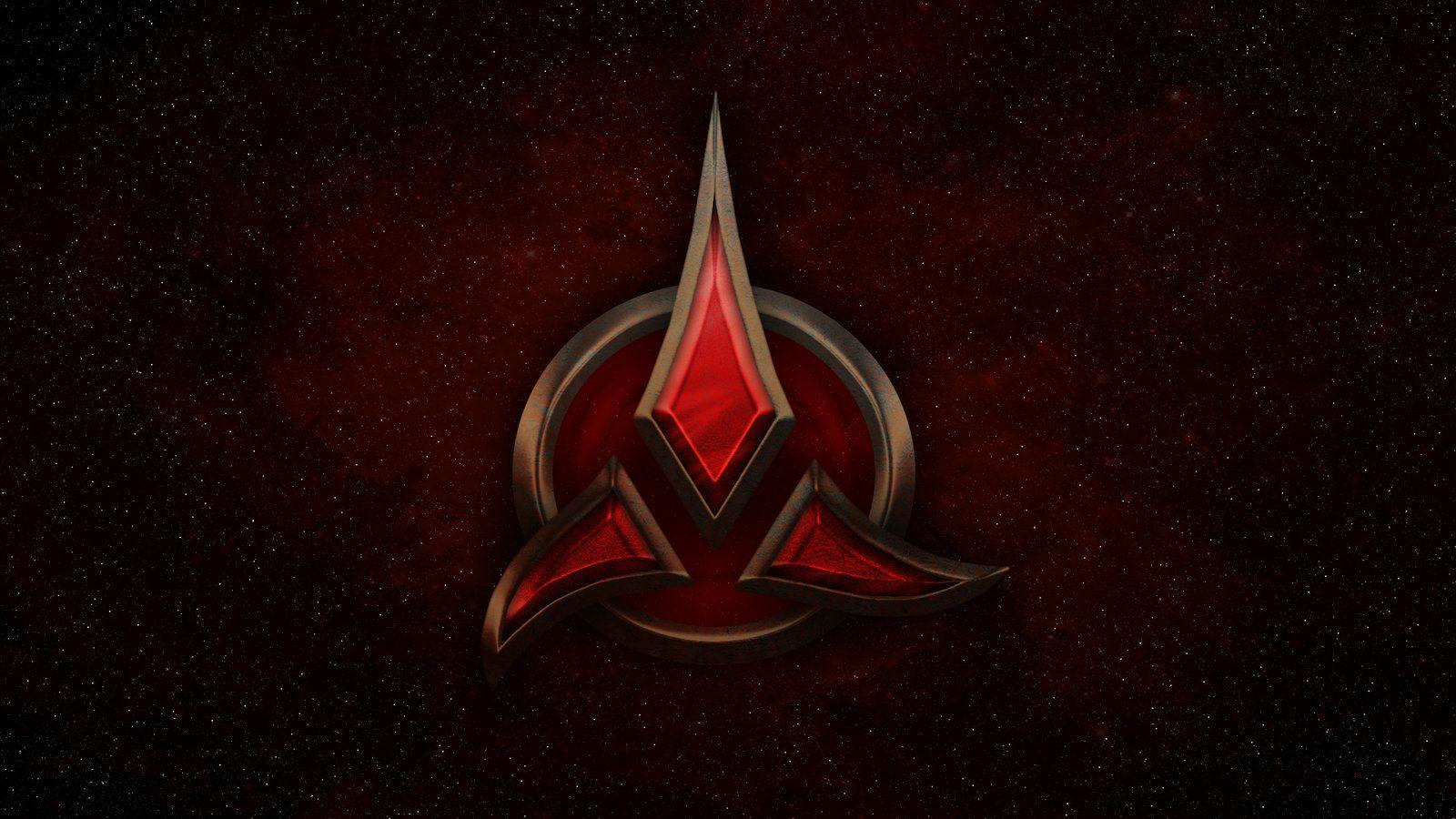 Klingon Logo Wallpapers Wallpaper Cave