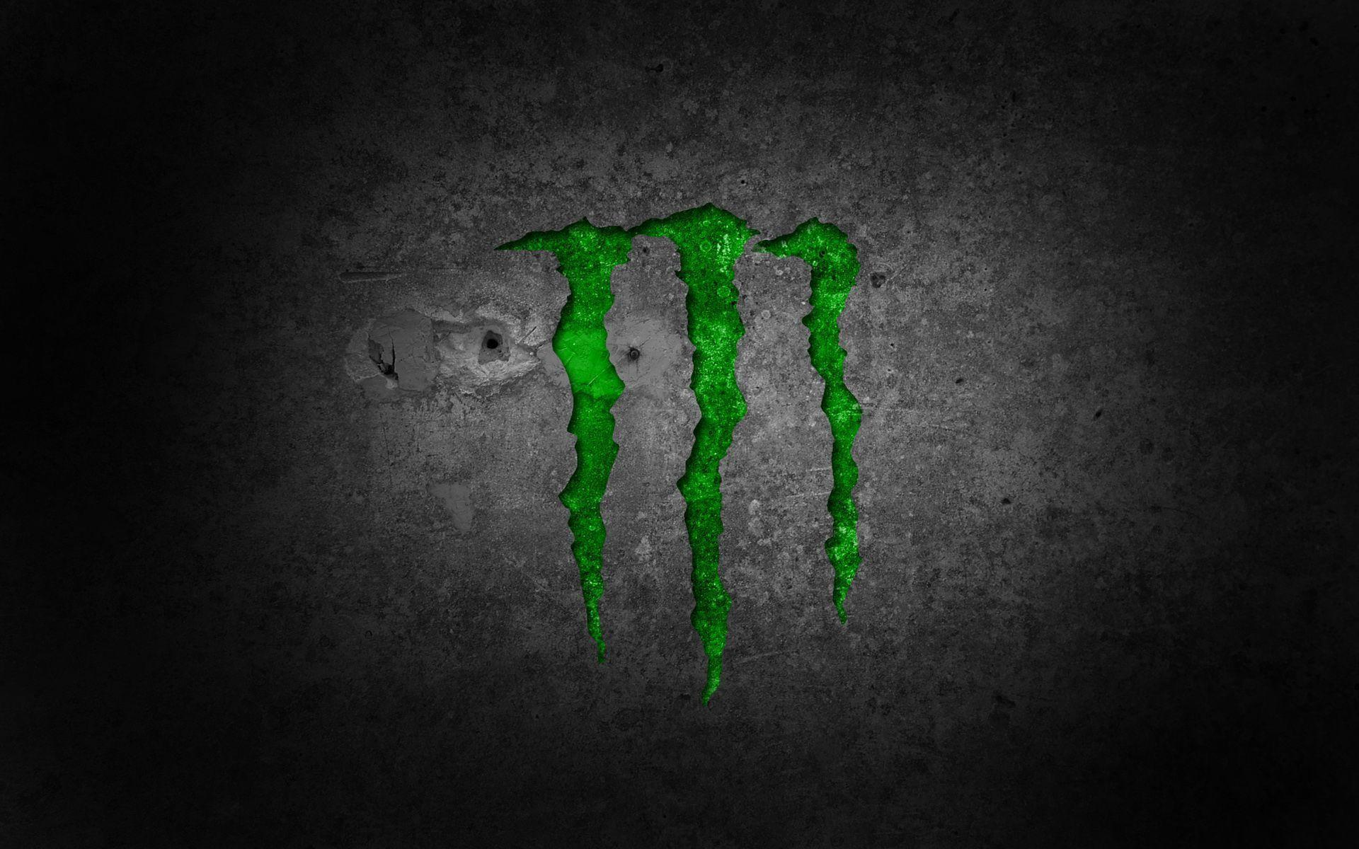 Wallpapers For > Monster Energy And Fox Racing Logo Wallpapers