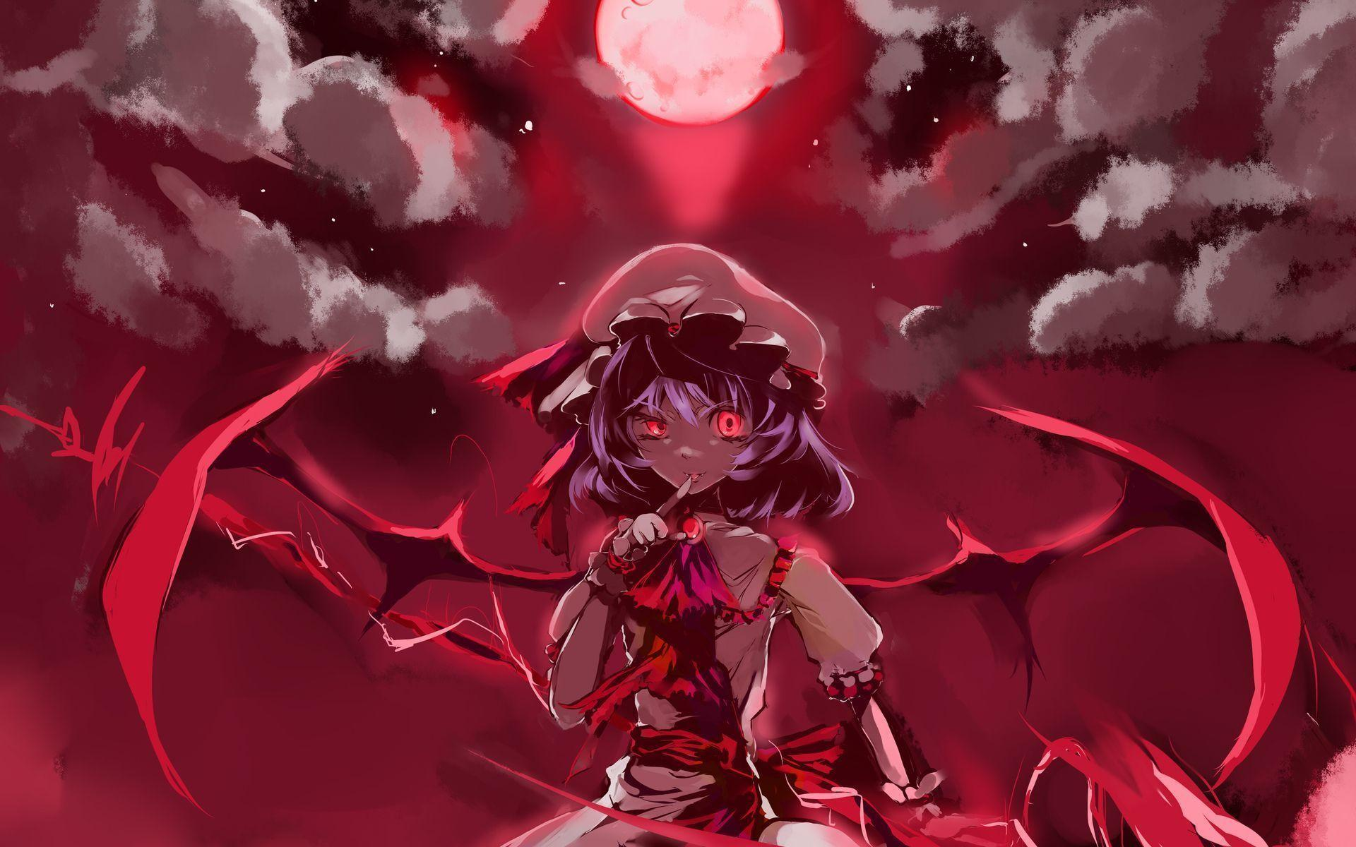 Anime vampire girl wallpaper id 1064 frenzia