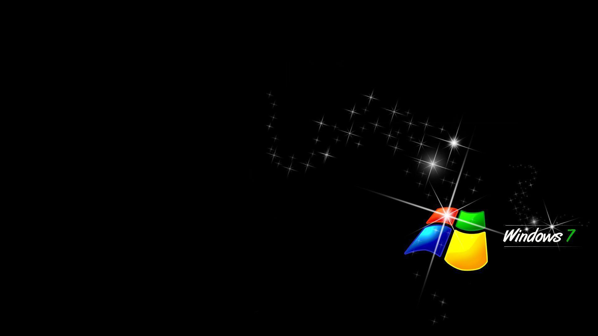 Black windows - Black Windows 7 Wallpaper Ahd Images
