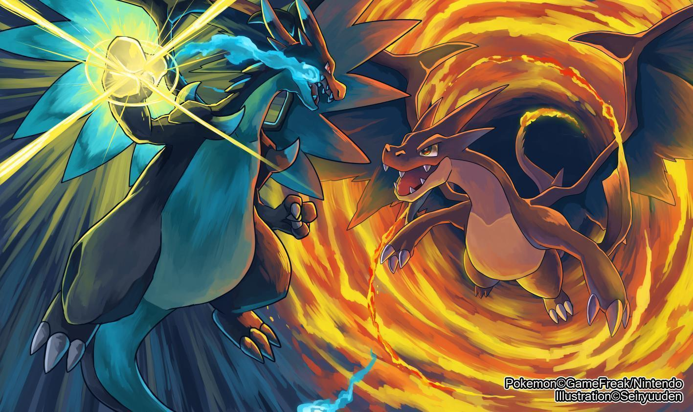 Charizard wallpapers wallpaper cave - Pokemon mega evolution y ...