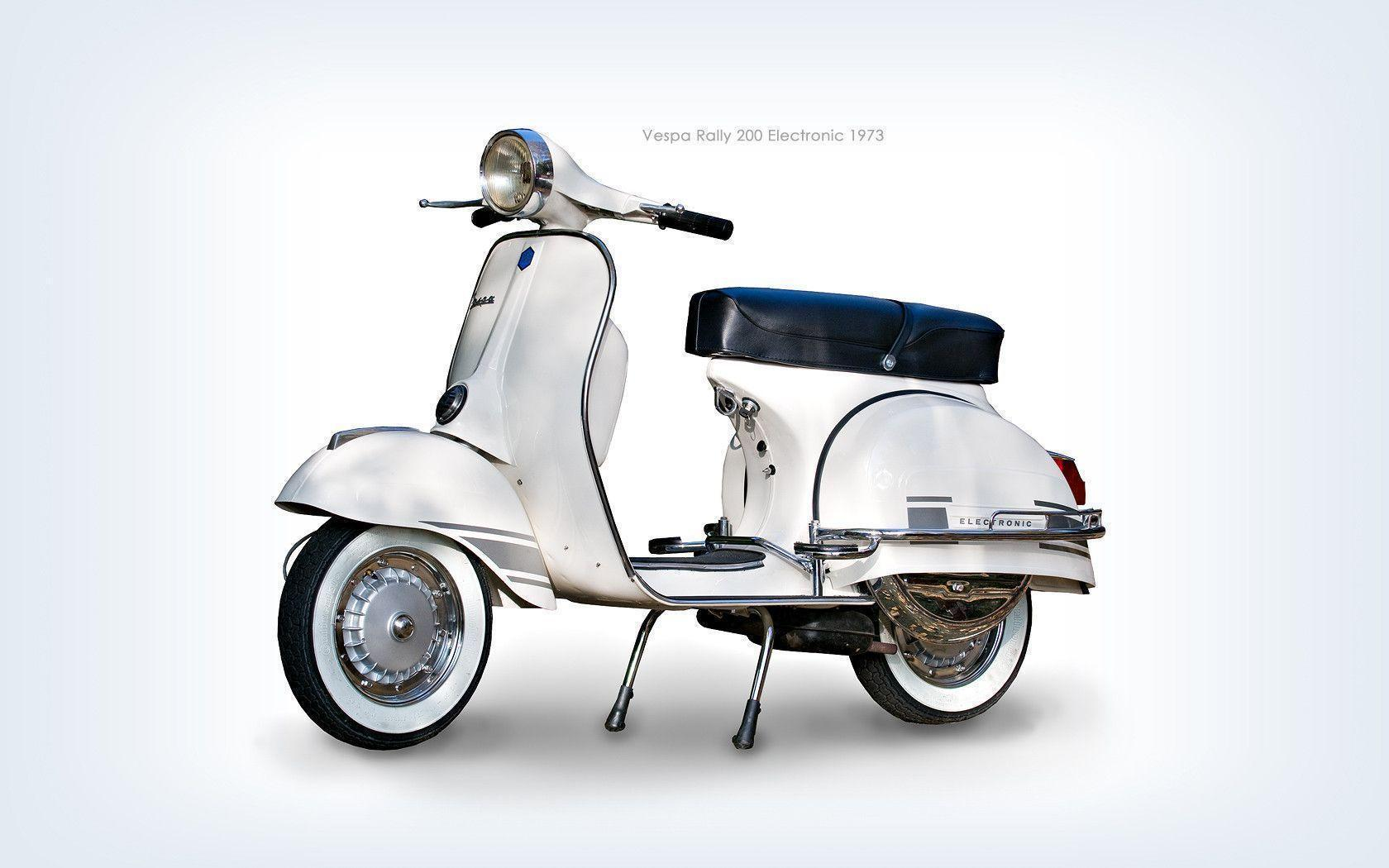 Vintage Vespa Wallpaper - Viewing Gallery