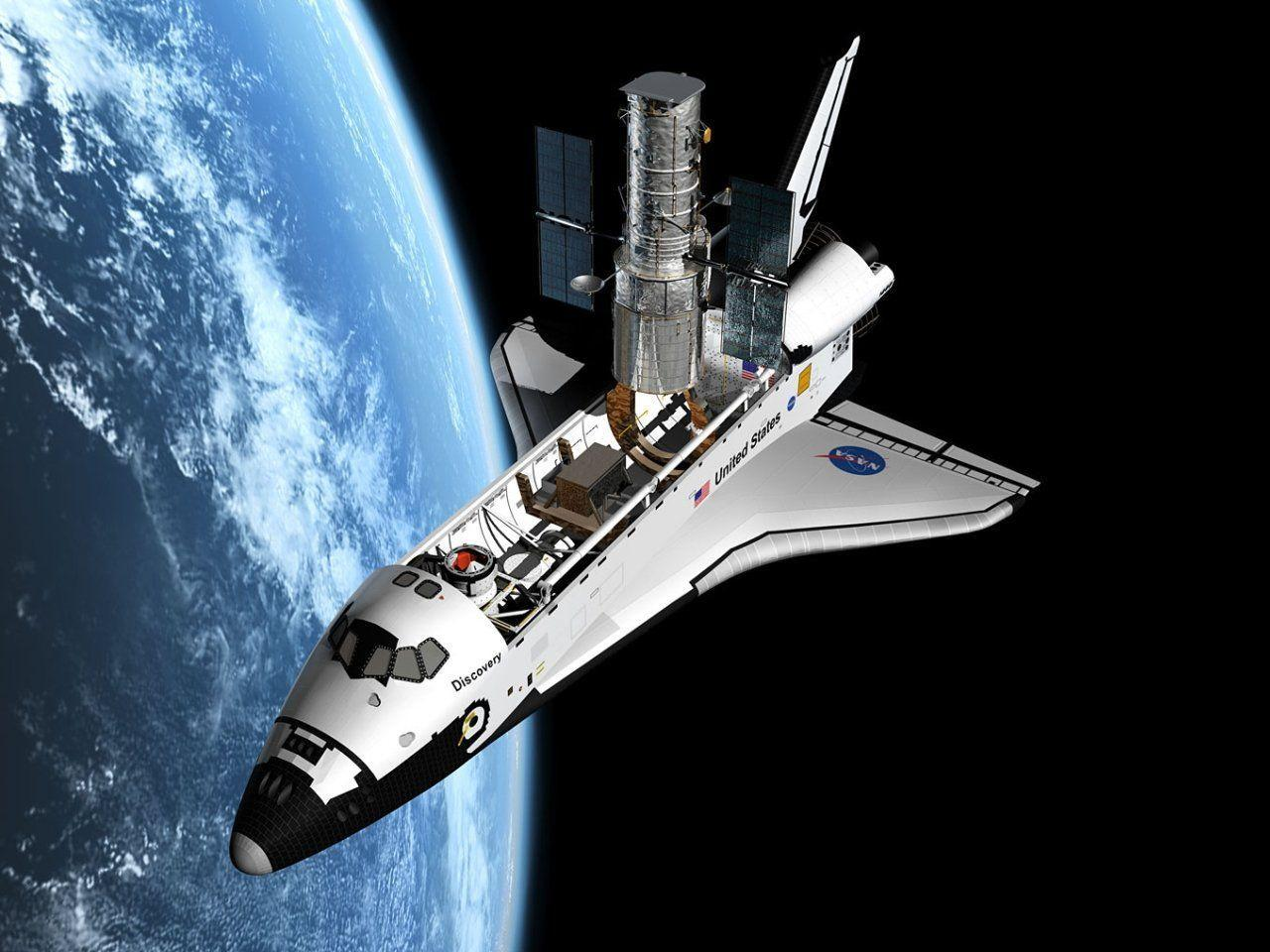 hd space shuttle in space - photo #22