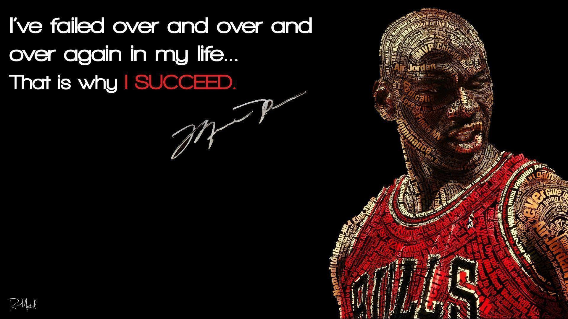 Quotes Basketball Michael Jordan Success Inspire Wallpapers Car