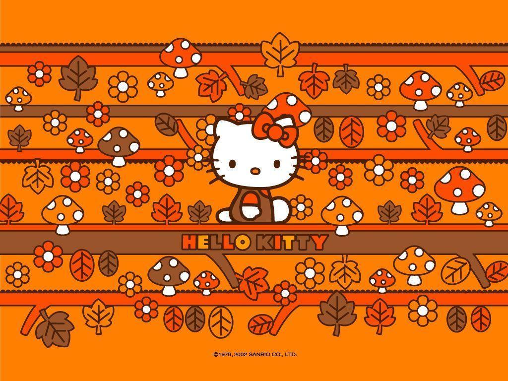hello kitty fall wallpaper - photo #8