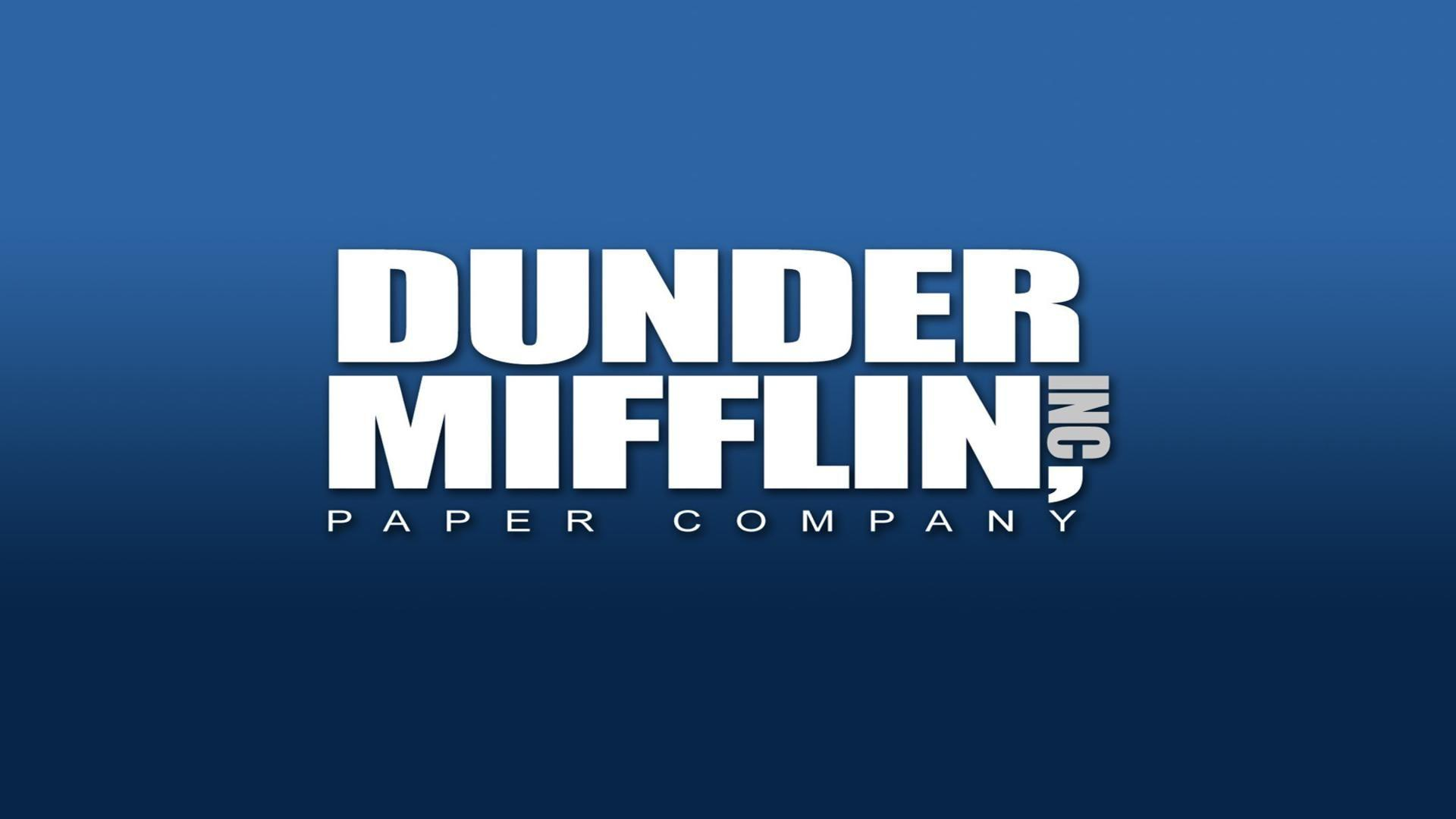 Dunder mifflin paper company the office free desktop background ...
