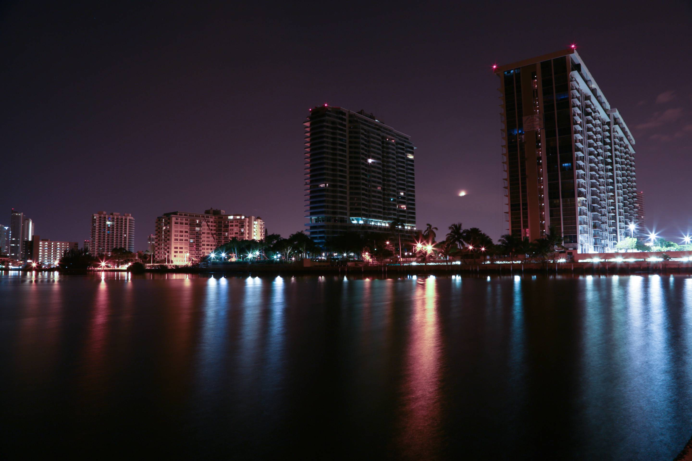 miami skyline wallpapers wallpaper cave