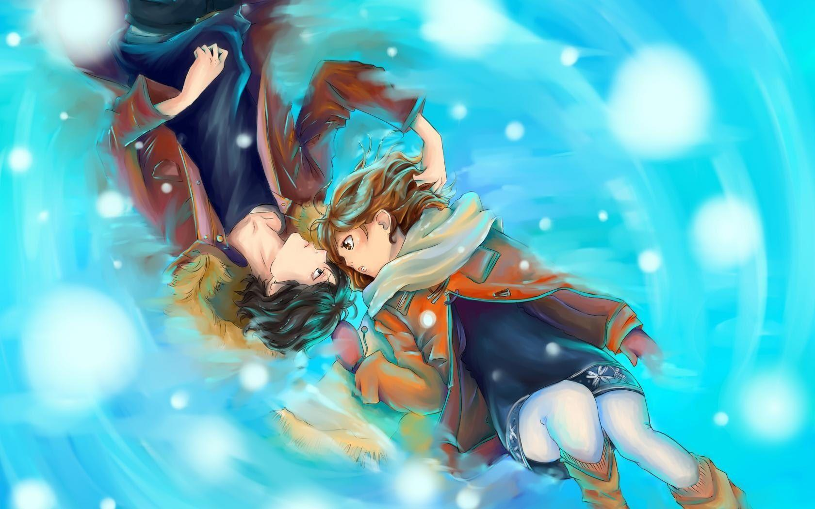 Anime Love Wallpaper Wallpaper Desktop Hd