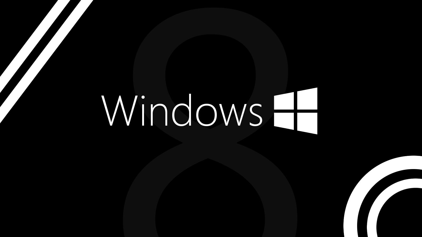 Windows 8 Black Wallpapers Wallpaper Cave