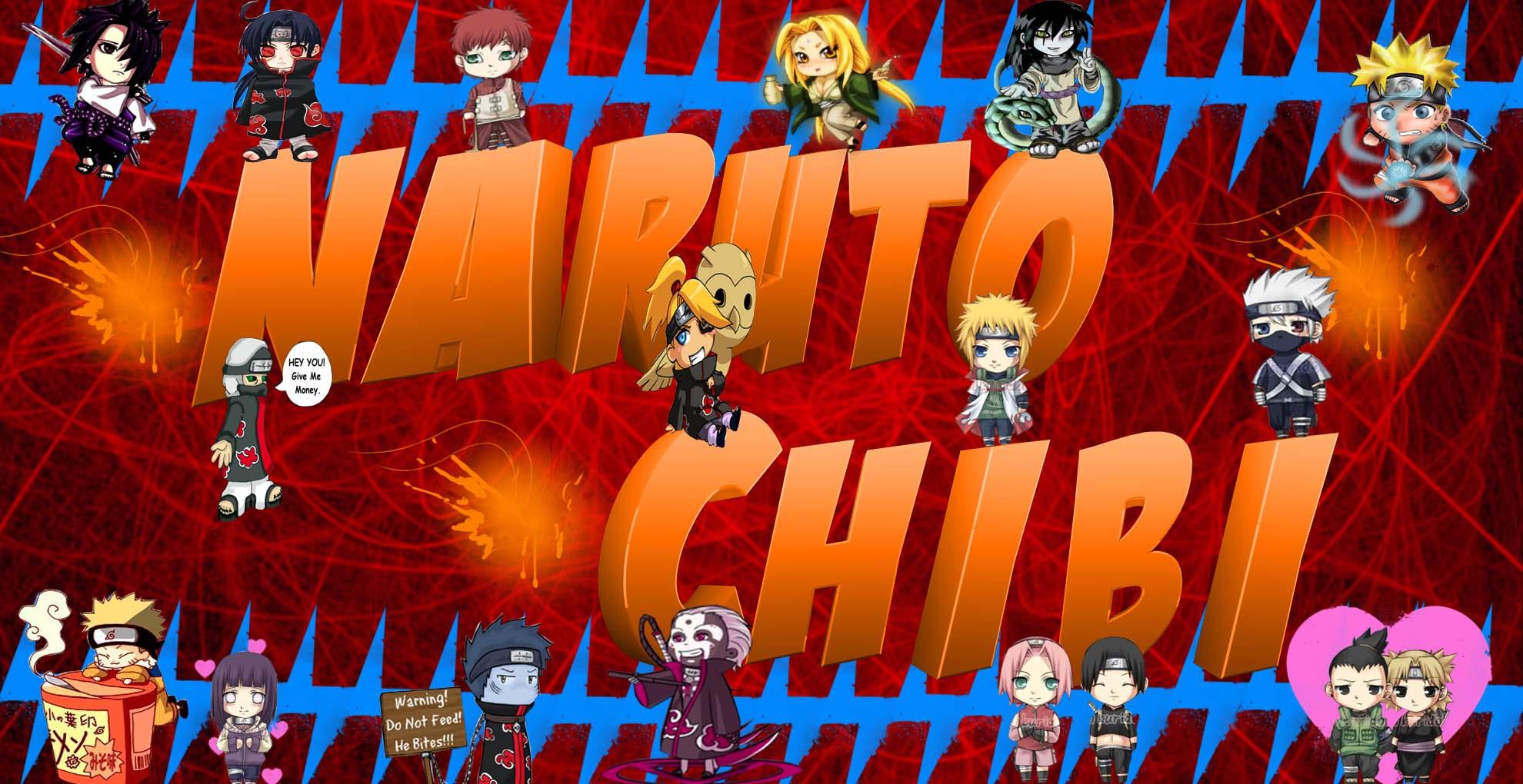 Naruto Chibi Wallpapers Wallpaper Cave