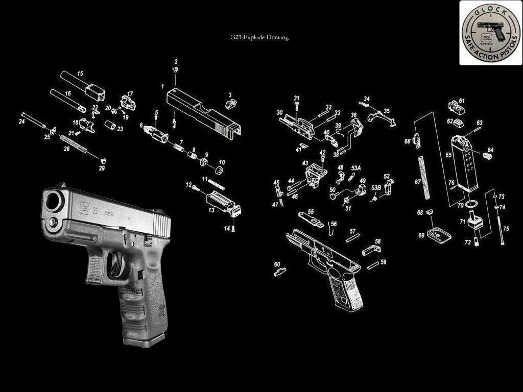 Firearm Tactical Gun Wallpaper Image Taken From Amazing Glock