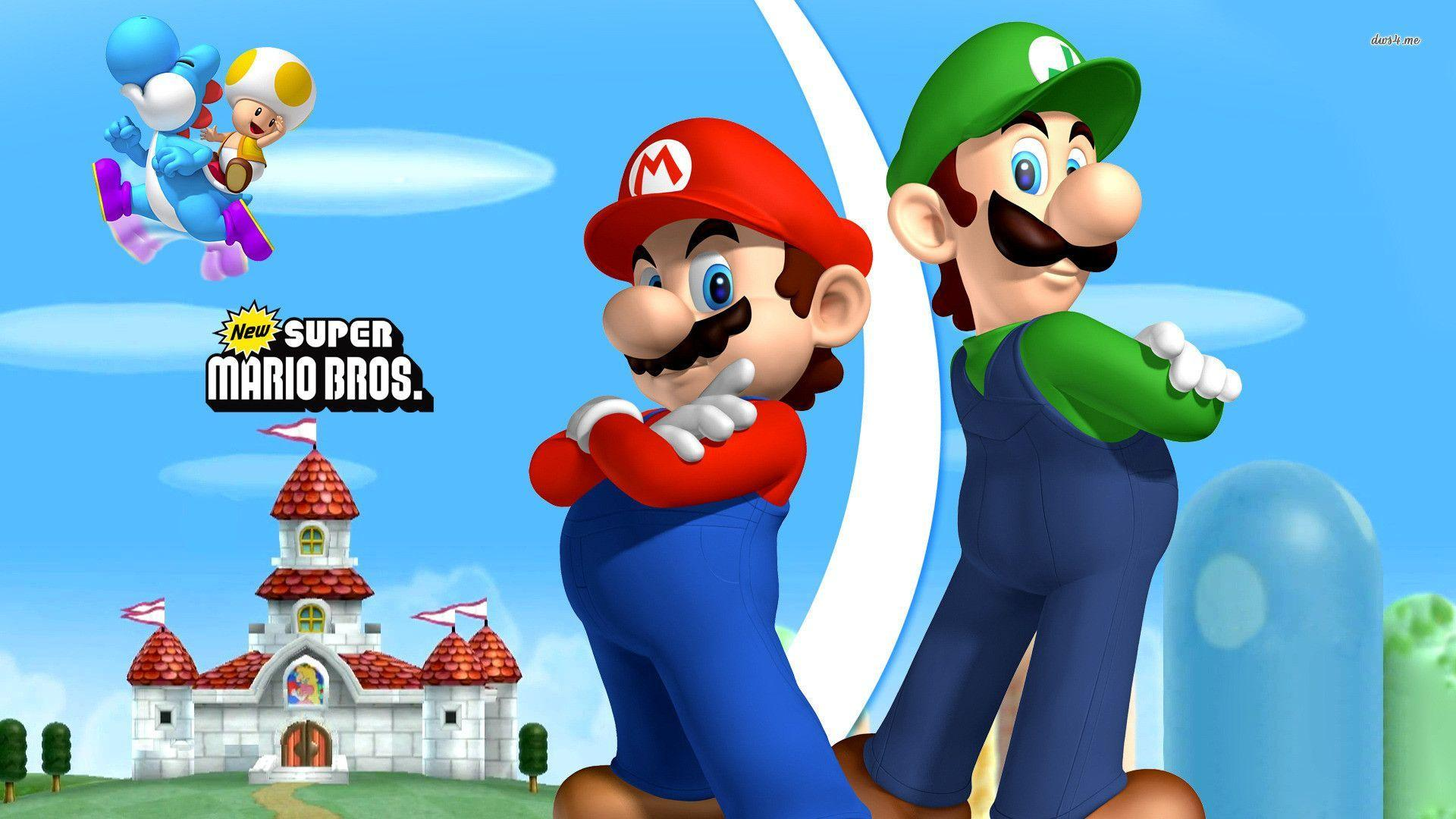 mario and luigi wallpapers - wallpaper cave