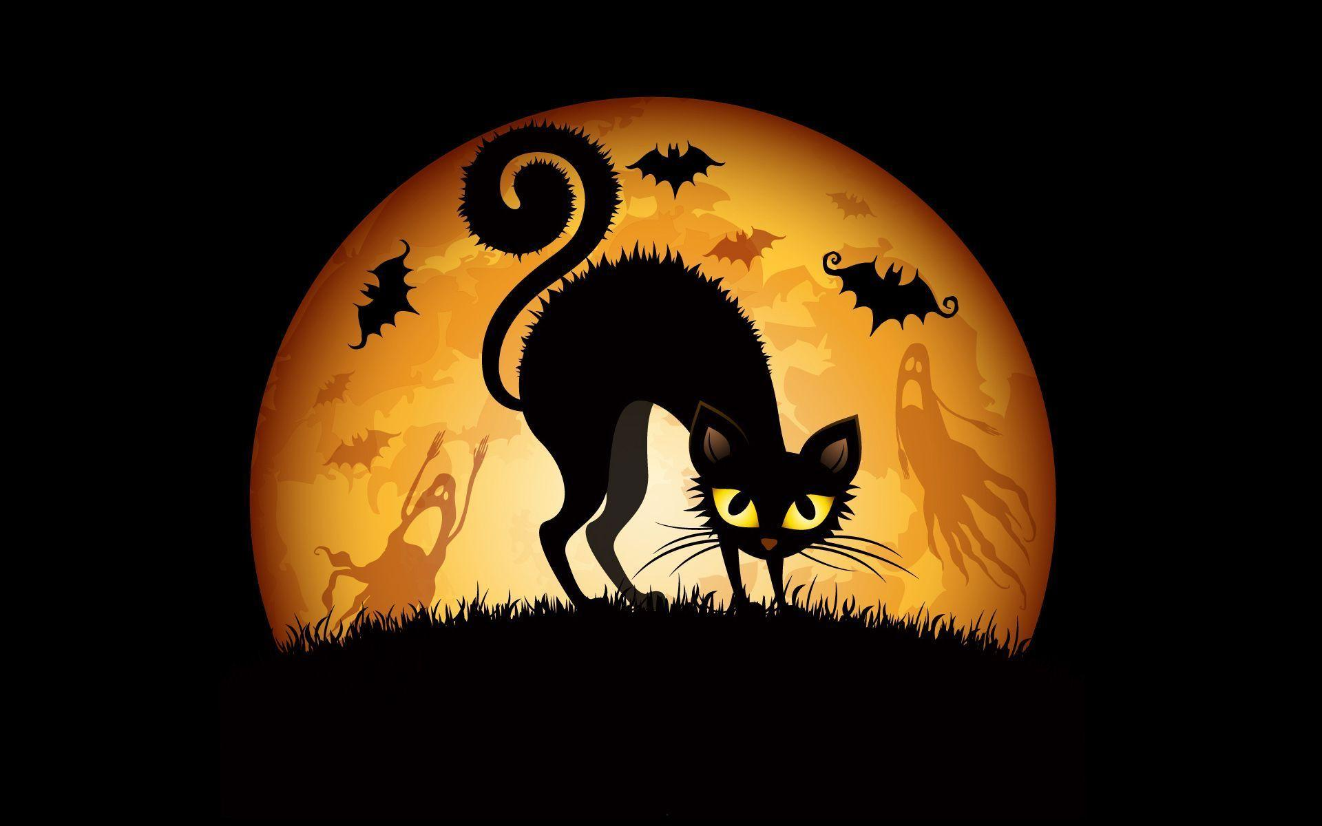 Halloween Cat Wallpaper - Viewing Gallery