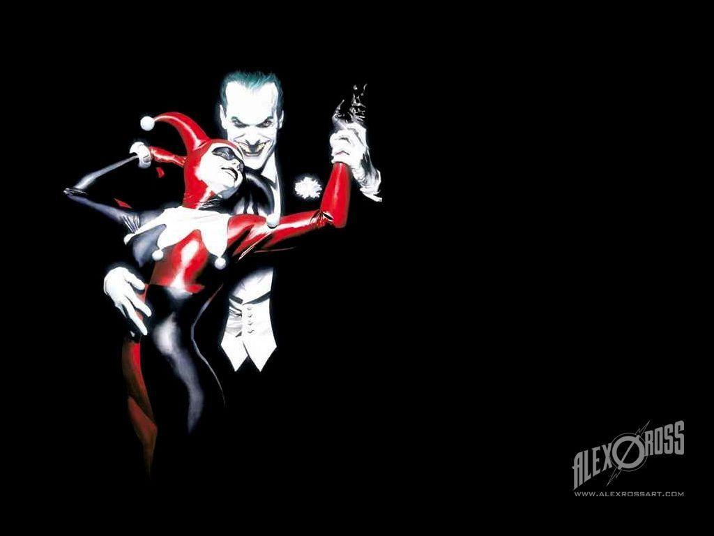 Joker And Harley Quinn Wallpapers Wallpaper Cave