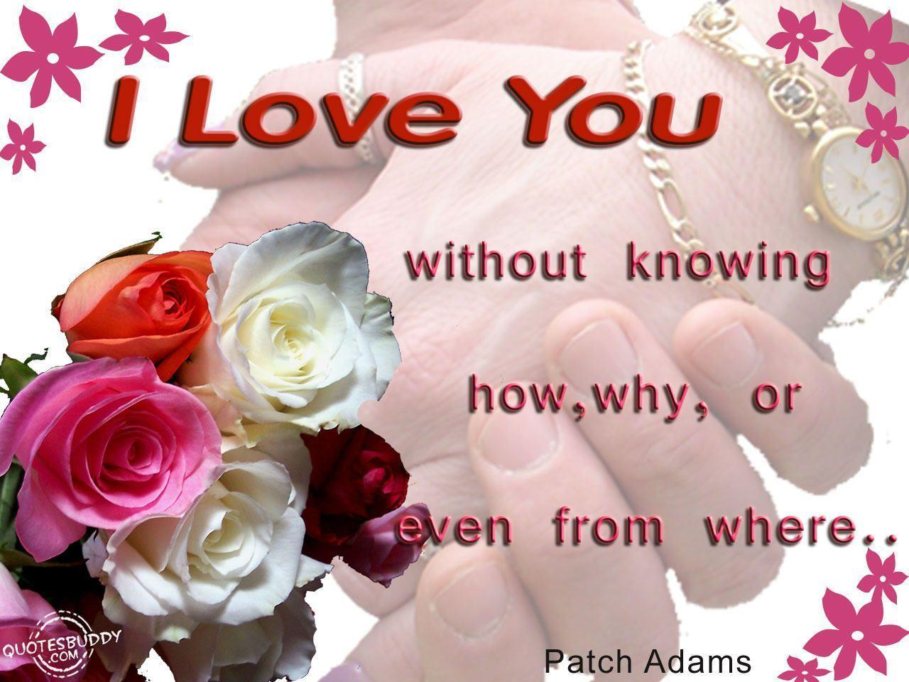 I Love You Quotes: I Love You Wallpapers With Quotes