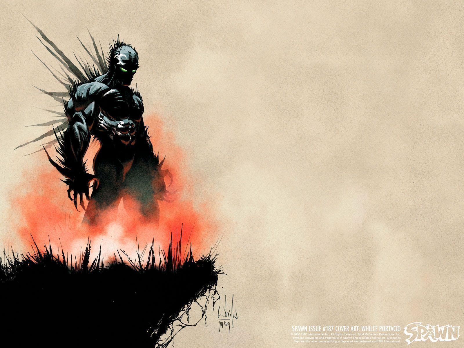 16001200 Superhero From Hell Spawn Comics WallpapersVol02