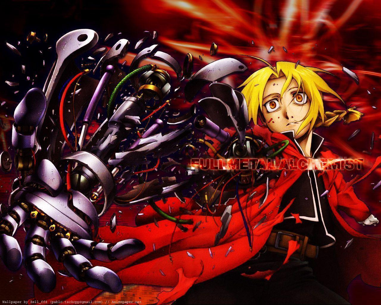 wallpapers anime fullmetal alchemist - photo #43