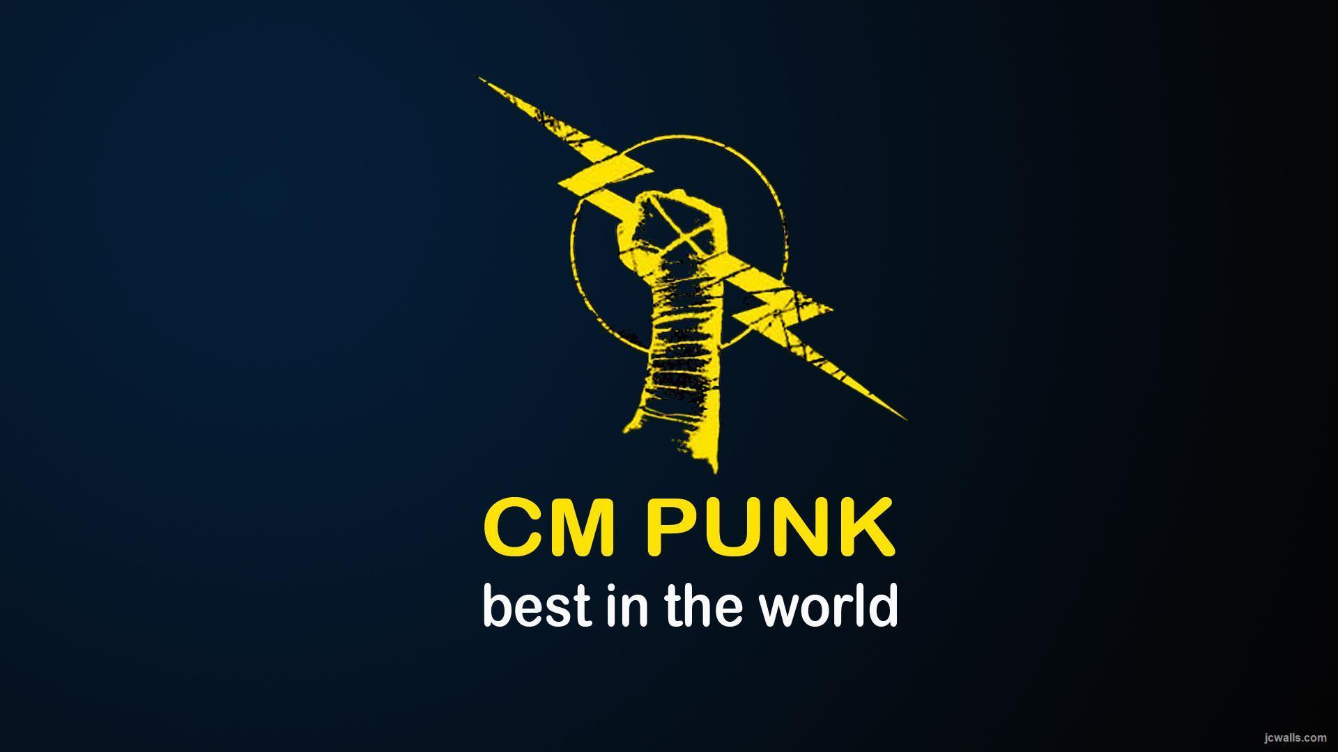 Cm Punk Logo Wallpapers Wallpaper Cave