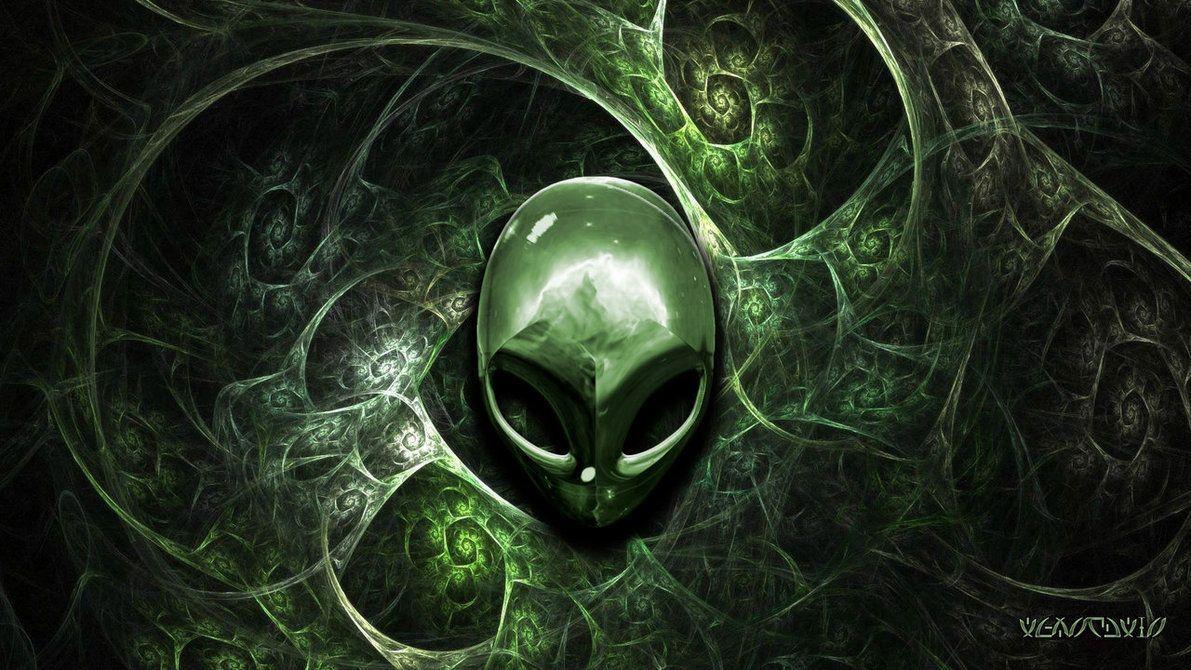 alienware wallpaper green hd - photo #9