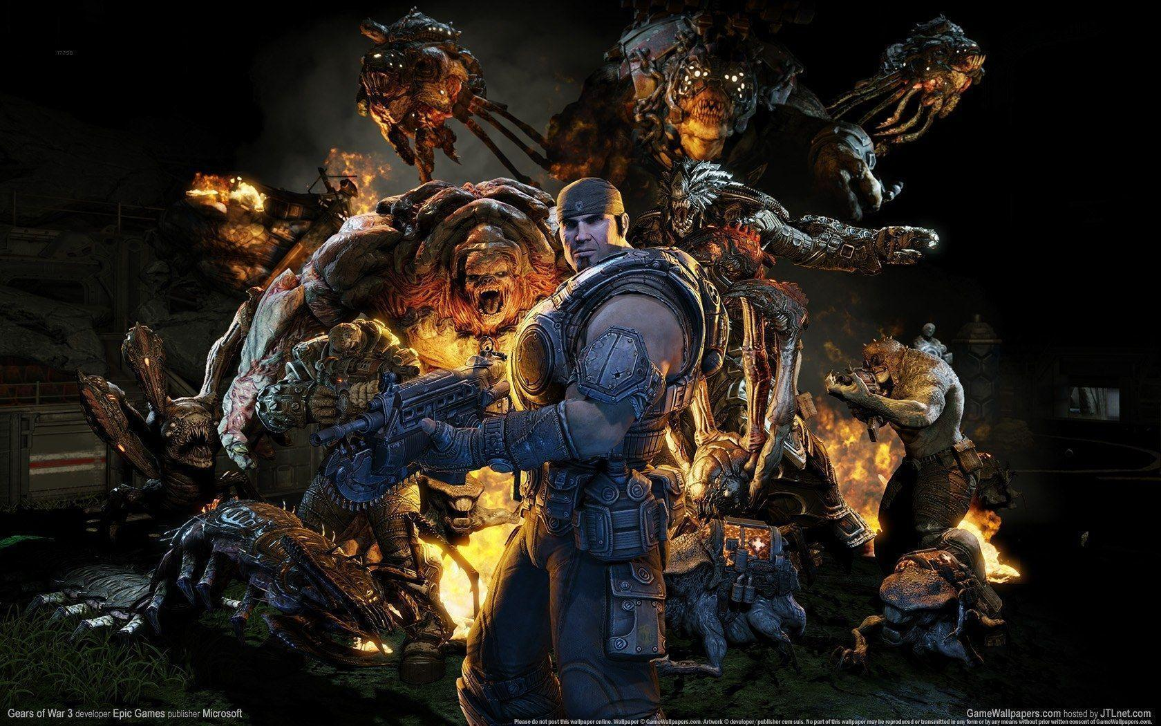 Gears Of War 3 Wallpapers: Gears Of War 3 Wallpapers